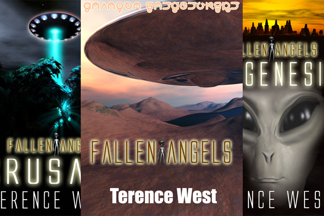 Fallen Angels Trilogy turns 10! Image: Double Dragon Books/Terence West