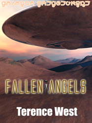 'Fallen Angels' by Terence West. Double Dragon Books