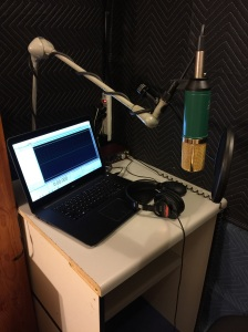 A look at my recording booth.