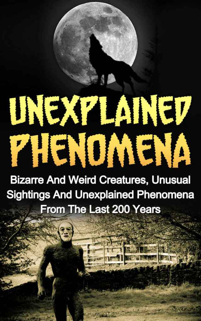 Unexplained Phenomena Cover